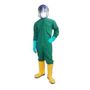 Quần áo chống hóa chất + Acid