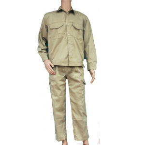 Quần áo Kỹ sư - Vải Kaki liên doanh - May túi hộp (May sẵn - Nhiều mầu)