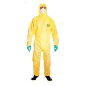 Quần áo chống hóa chất - Dupont - Tychem