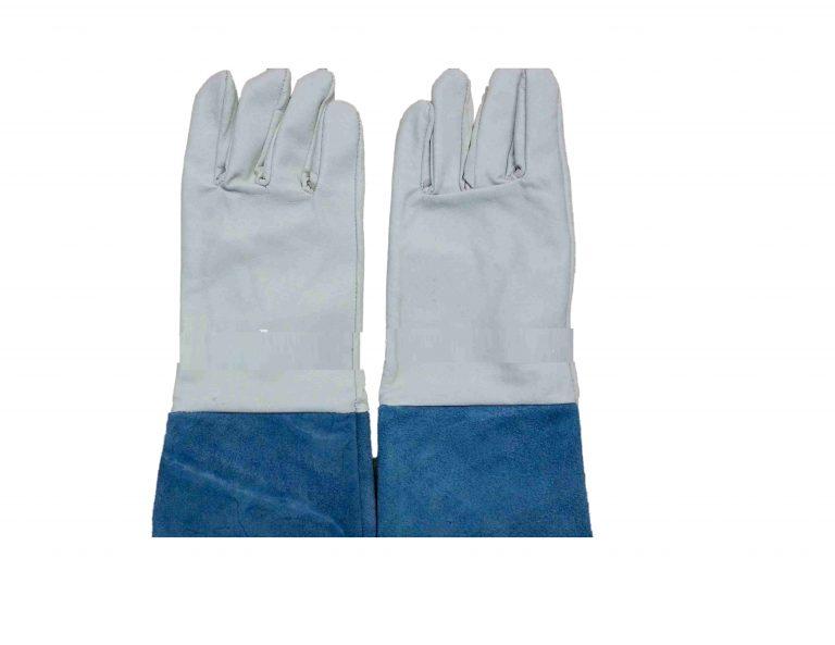 Găng tay da hàn dài - Việt Nam