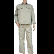 Quần áo kaki loại 2 - May sẵn (Mầu ghi, Đá, Xanh)